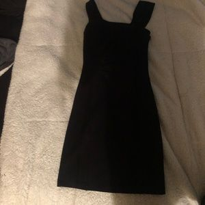 GUESS Women's BODYCON Black Dress